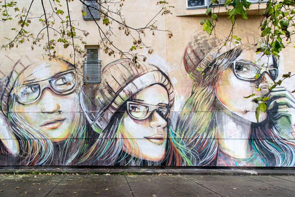 אמנות רחוב ברחבי העולם