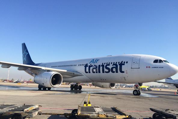 טרנסאט אייר הקנדית התחילה לטוס לישראל