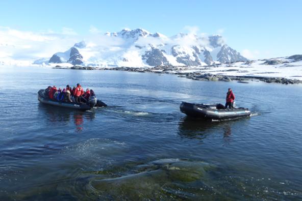 המסע שלי לאנטארקטיקה