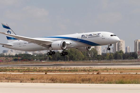 מטוס החלומות של אל על נחת בישראל