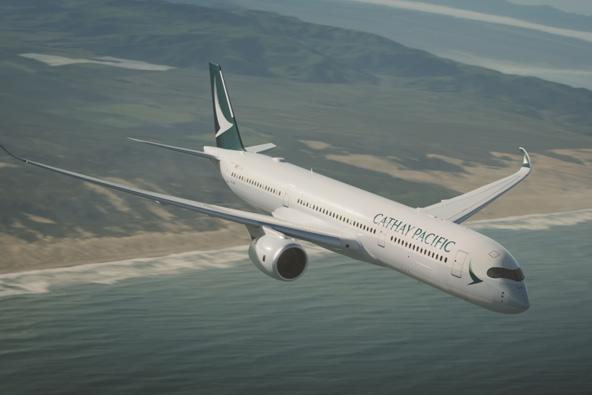מטוס של קתאי פסיפיק, אחת מחמש חברות התעופה המצטיינות בעולם