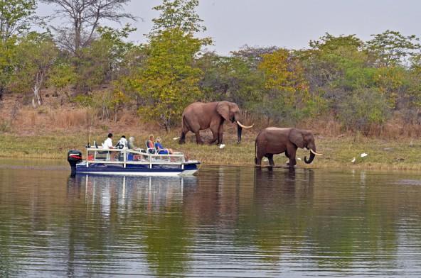 טיול שייט בנהר הזמבזי וספארי בזימבבואה, בהדרכת אייל ברטוב