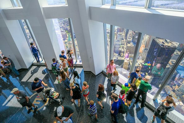 תצפית על העיר מ-One World Observatory \ צילום: f11photo / Shutterstock.com