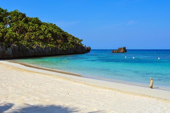 חוף באי רואטן בהונדורס