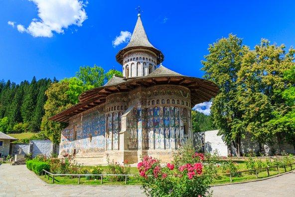 מנזר וורונץ, אחד מהמרשימים שבכנסיות המצוירות של מולדובה