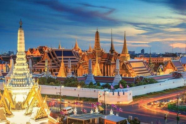 מתחם ארמון המלך בבנגקוק, מהאתרים המתויירים בתאילנד