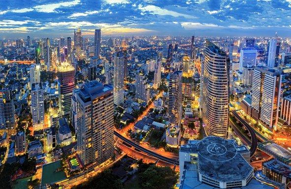 קו הרקיע של בנגקוק. שילוב בין ישן וחדש | צילומים: שאטרסטוק