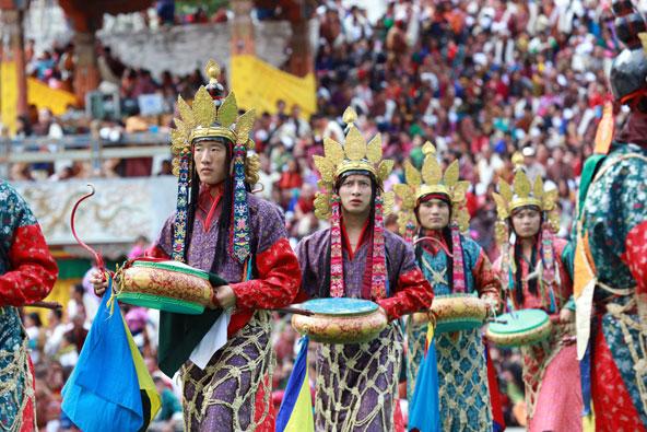 הפסטיבל בטהימפהו, אחד הפסטיבלים החשובים בממלכה