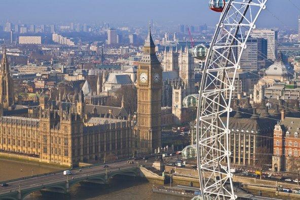 תצפית על הביג בן ועל בתי הפרלמנט מהלונדון איי | צילום: © Pawel Libera/London and Partners