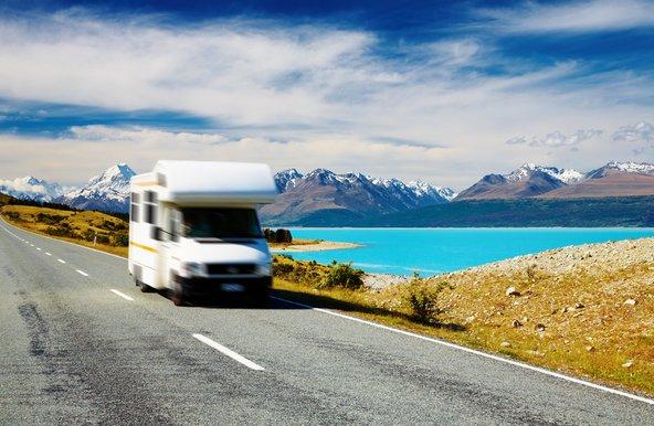 טיול בקרוואן בניו זילנד. דרך פופולרית ומהנה לטייל