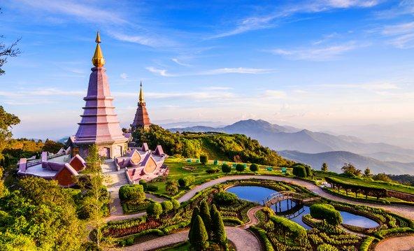 מקדשים בהר דוי אינתנון בצ'יאנג מאי