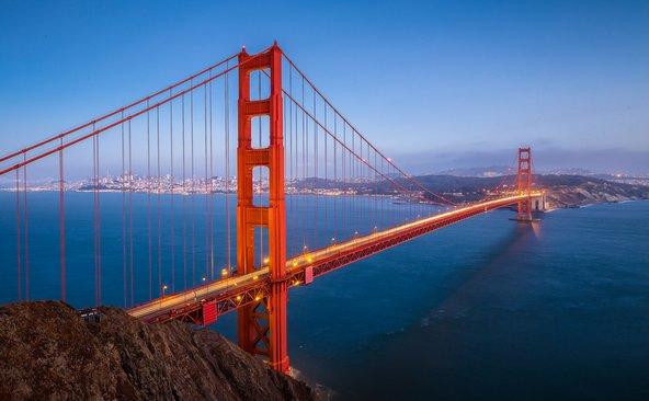 גשר שער הזהב, אחד הסמלים המוכרים של סן פרנסיסקו