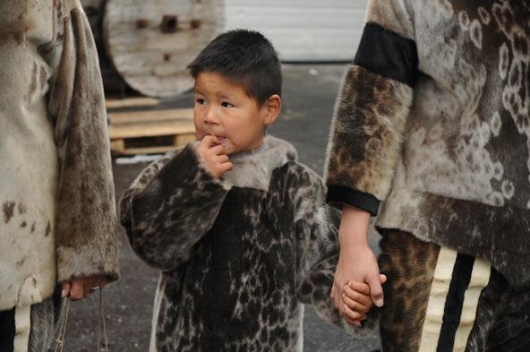 ילד אינוגואיטי בגרינלנד