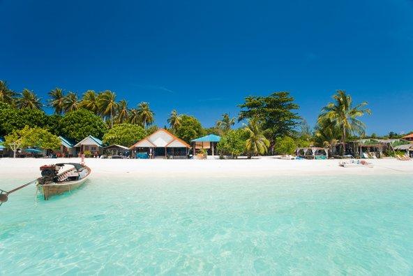 חוף טרופי חלומי באי קו ליפה