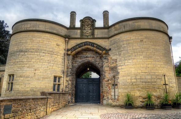שער הכניסה לטירת נוטינגהאם