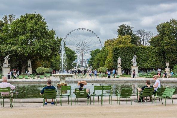 גלגל ענק ביריד הקיץ בגני טיולרי   צילום: Nadiia_foto / Shutterstock.com
