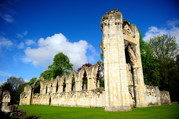 שרידיו של מנזר יורק