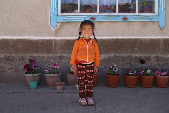 ג'סמין, ילדה מהמשפחה שאצלה התארחנו