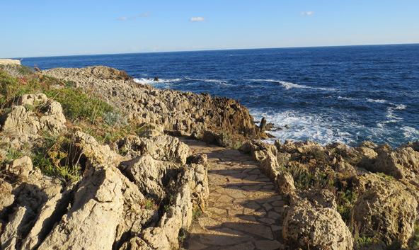 בין סלעים לים: שביל המכס שעובר לאורך חופי כף אנטיב
