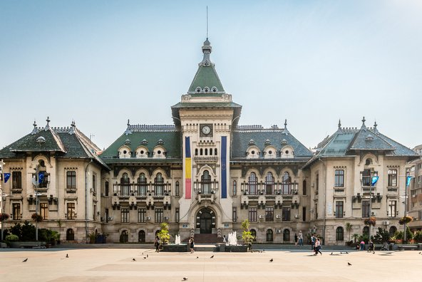 קראיובה, רומניה: יום בעיר