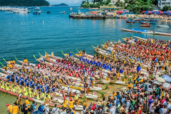 מרוץ סירות הדרקון, מהאירועים שלא כדאי להחמיץ בהונג קונג | צילום: ostill / Shutterstock.com