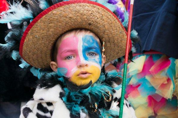 ילד מחופש בקרנבל של דנקירק | צילום: HUANG Zheng / Shutterstock.com