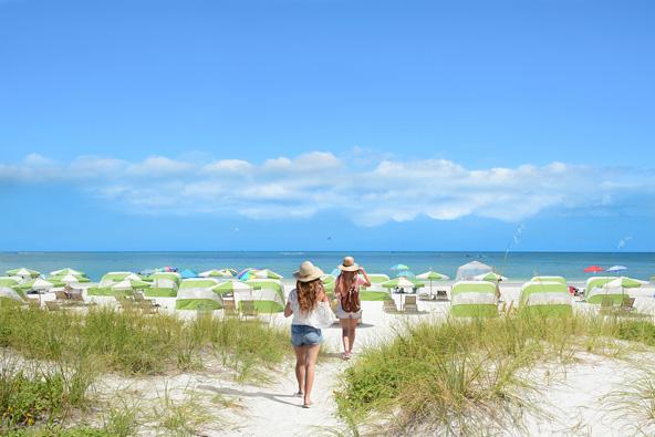 החופים היפהפיים של פלורידה מהווים את אחת מנקודות המשיכה של המדינה