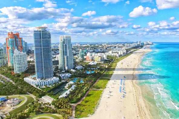 חוף סאות' ביץ במיאמי