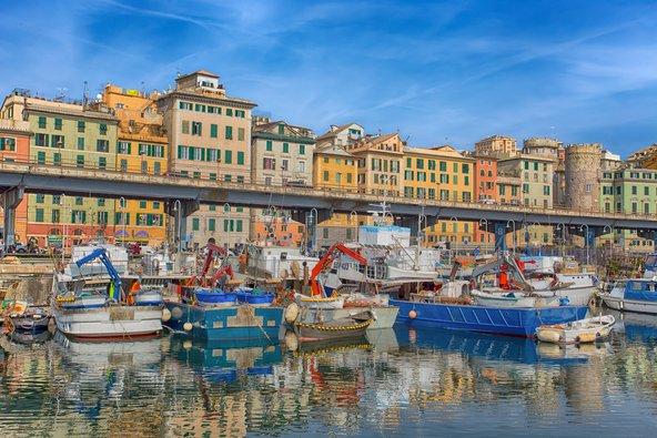 הנמל של גנואה | צילום: faber1893 / Shutterstock.com