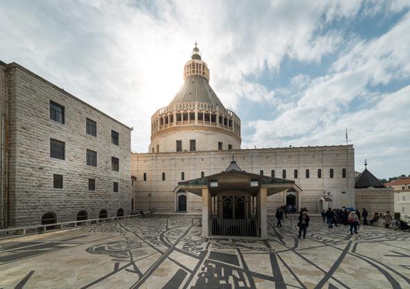 כנסיית הבשורה, אחת החשובות בעולם הנוצרי | צילום: שאטרסטוק