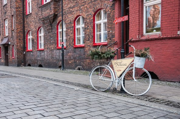 בתי לבנים אדומות בשכונת ניקישובייץ | צילוםף mkos83 Shutterstock.com