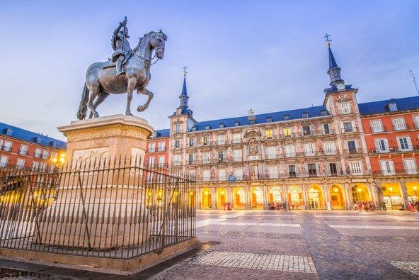פלאזה מאיור, הכיכר המרכזית של מדריד