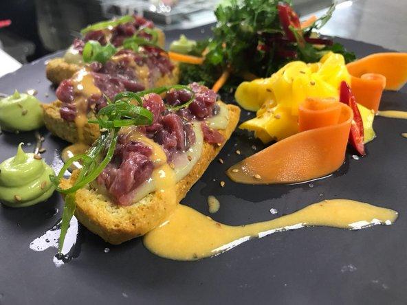 המטבח של לוקנדה משלב בהצלחה בין טעמים מקומיים לאיטלקיים
