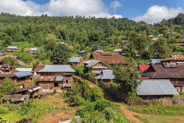 כפר הררי בקרבת סיפאו