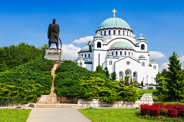 כנסיית סנט סאווה, אחת הכנסיות האורתודוקסיות הגדולות בעולם