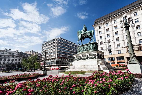 כיכר הרפובליקה, הכיכר המרכזית בעיר