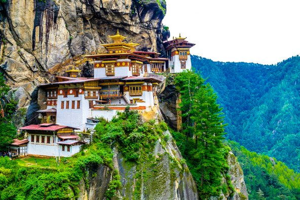 מנזר טאקטסאנג שהפך לאחד מהסמלים של בהוטן
