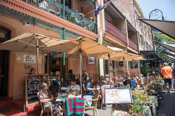 סידני מציעה מבחר מסחרר של מסעדות ובתי קפה