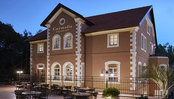 בניין טמפלרי בן 100 שנה שופץ להפליא והפך לכרמלה, מלון בוטיק מהטובים בארץ