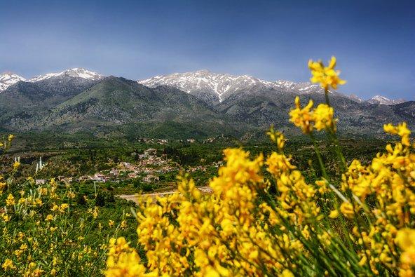 אביב בהרים הלבנים בכרתים