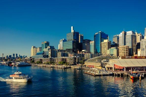קו הרקיע בנמל דרלינג | צילום: amophoto_au / Shutterstock.com