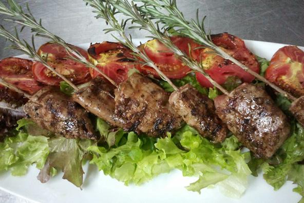 מהמטבח של מסעדת דיאנא.בנצרת תמצאו מסעדות ערביות, מערביות ושילוב של השתיים