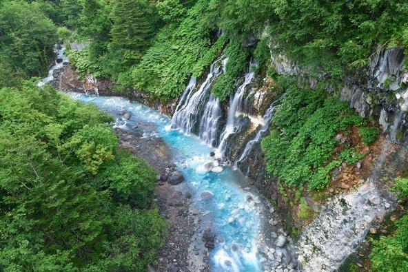 מפלים באי הוקאידו