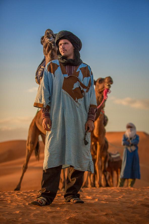תושבי המדבר , אנשי הגלימות כחולות