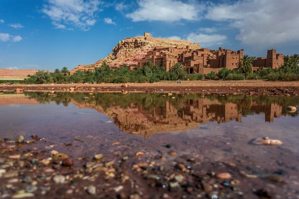 קסבת איית בן חדו, אחת הקסבות היפות והשמורות במרוקו