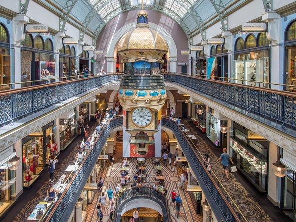 בניין המלכה ויקטוריה, מהקניונים היפים בעיר | צילוםף Rolf_52 / Shutterstock.com