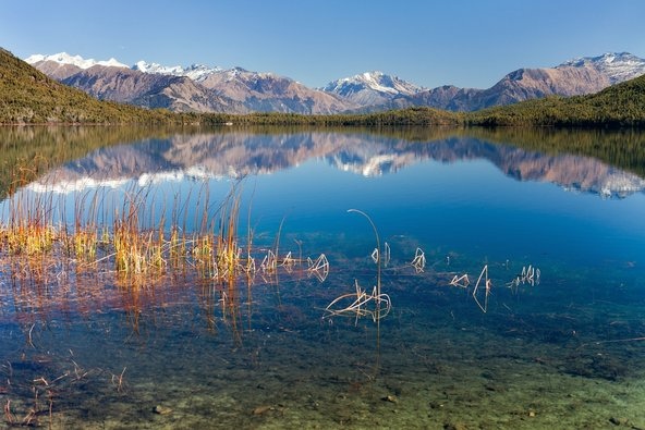 נוף טיפוסי בטרק אגם ררה