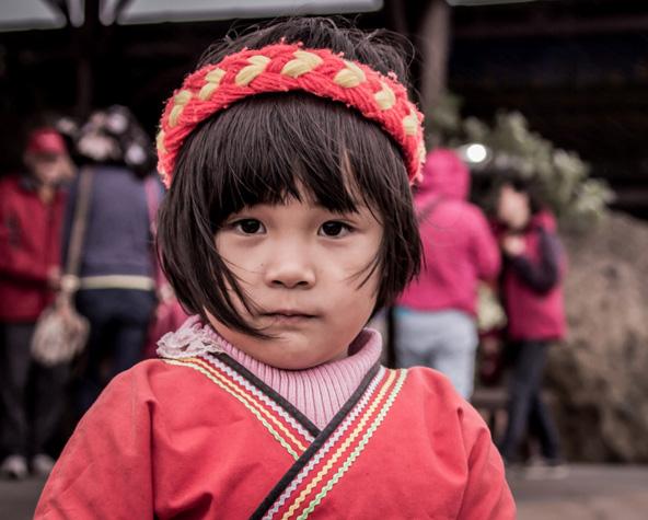 ילדה משבט האמיי. בטייוואן יש 16 שבטים אבוריג'ינים המוכרים רשמית על ידי הממשלה