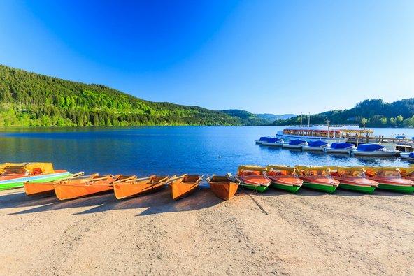 אגם טיטיזה, מהיפים באגמי היער השחור