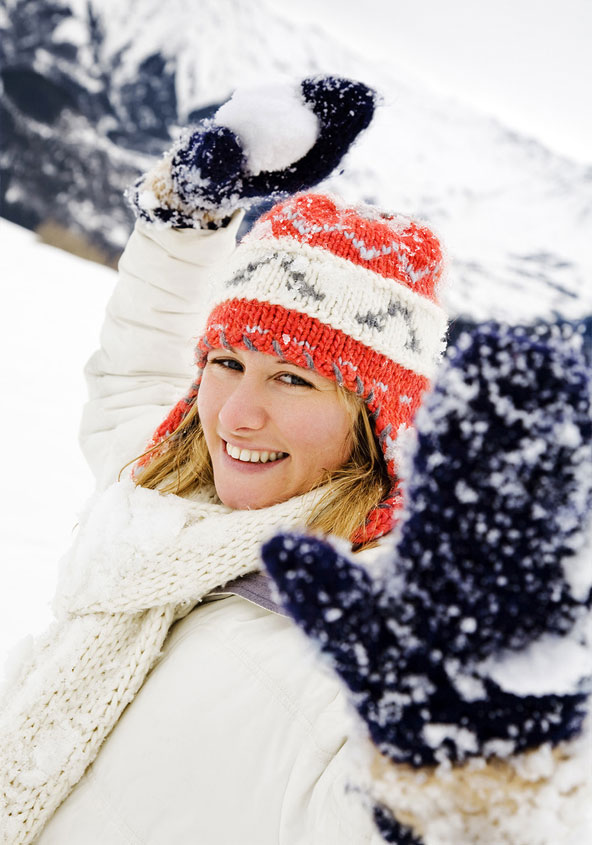 ואחרי שדאגתם לגוף, אל תשכחו להצטייד בכובע מחמם וכפפות איכותיות